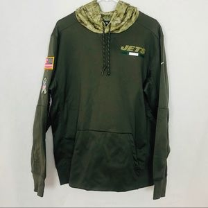 Nike New York Jets Salute To Service Hoodie